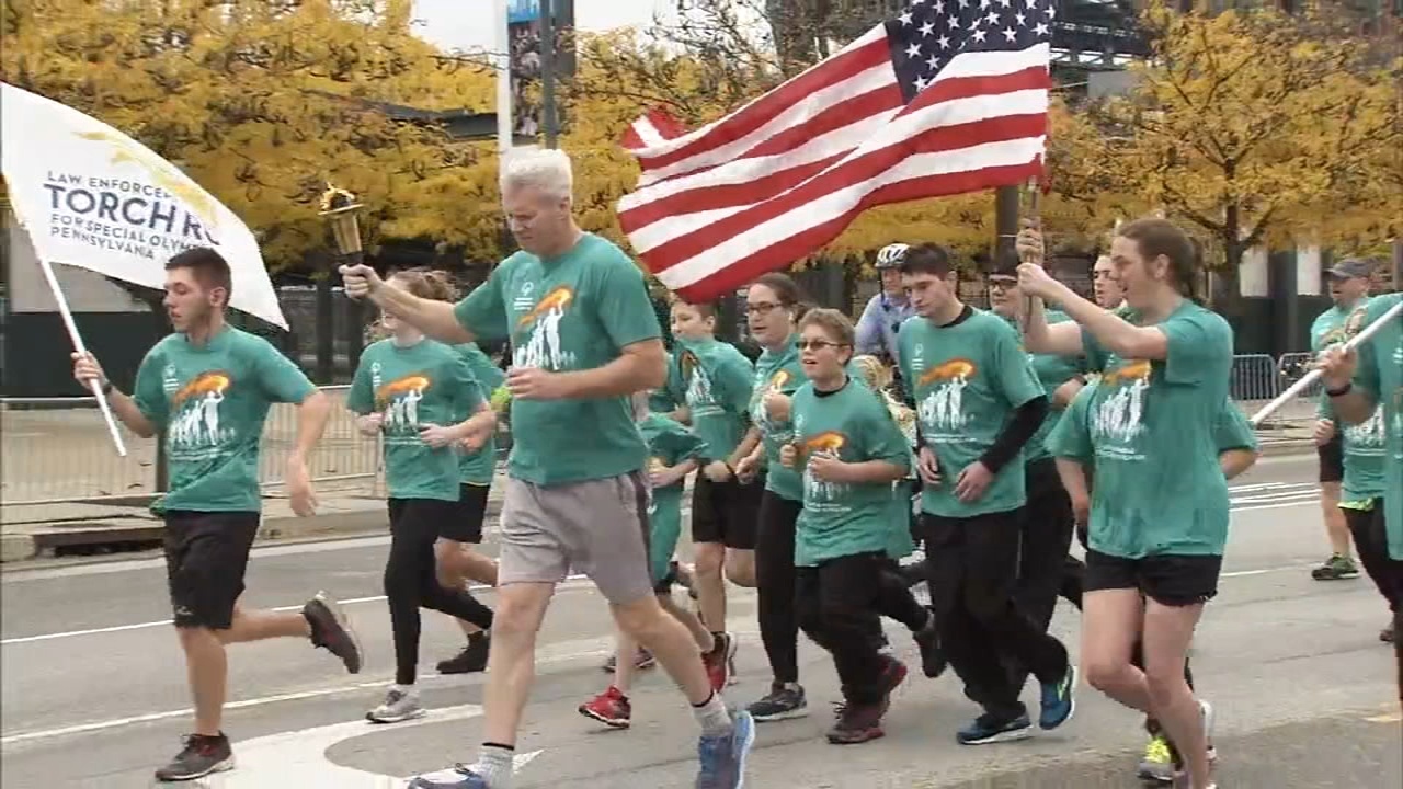 The 26 mile event started in South Philly and ends at Villanova University as reported during Action News at 4 on November 2, 2018.