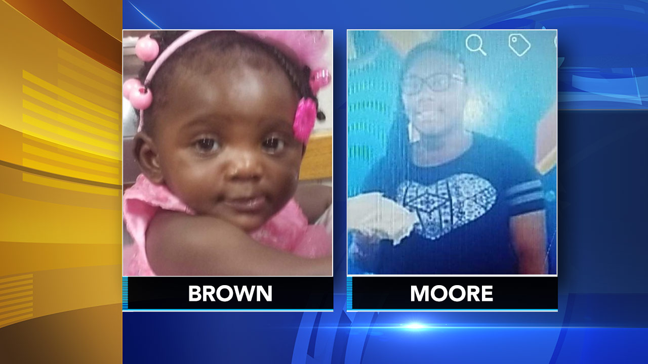 Police say 17-year-old Vic-Torionah Moore was babysitting 1-year-old Zion Brown.