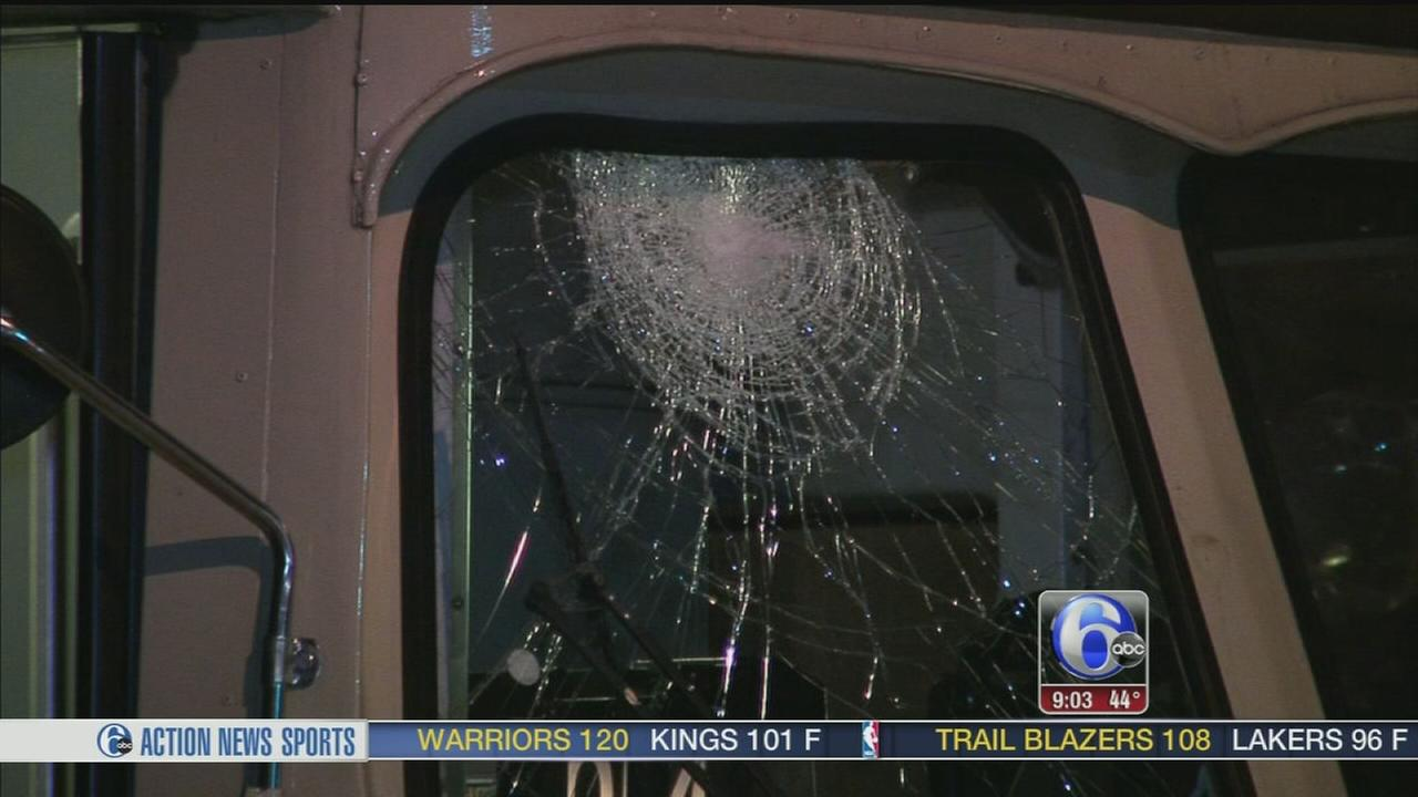 VIDEO: Trolley possibly targeted in Parkside