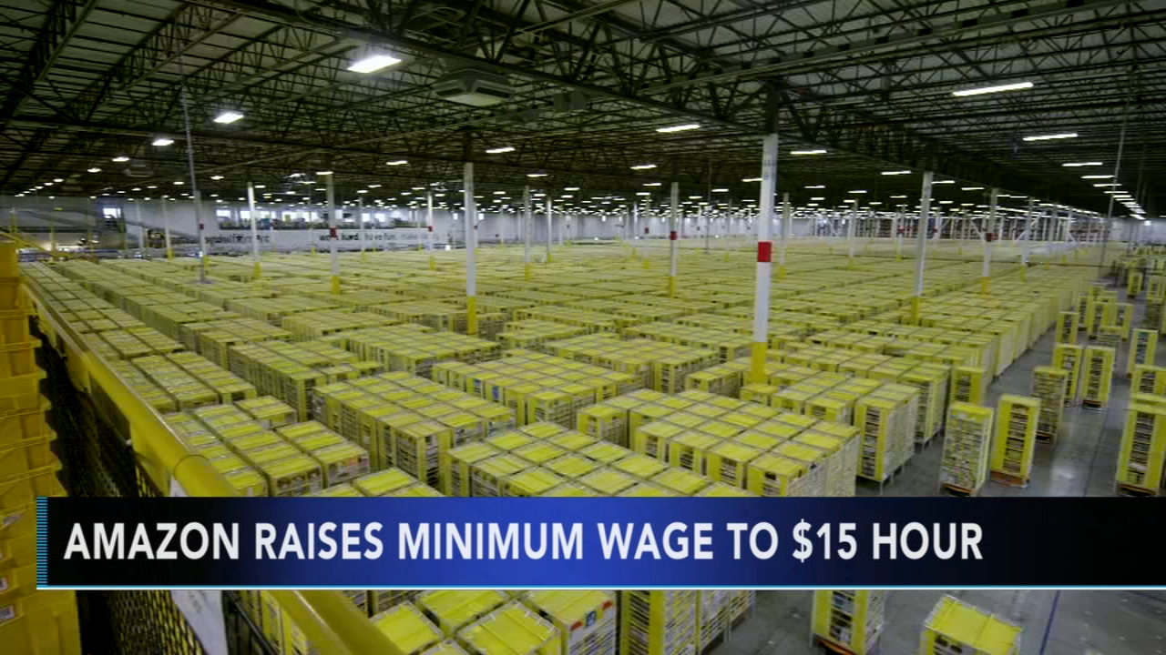 Amazon increases minimum wage for workers in the US. Gray Hall reports during Action News at 6 a.m. on November 3, 2018.