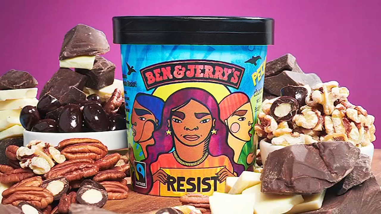 Ben and Jerrys launches new flavor ahead of midterm elections. Gray Hall reports during Action News at 9 a.m. on November 3, 2018.