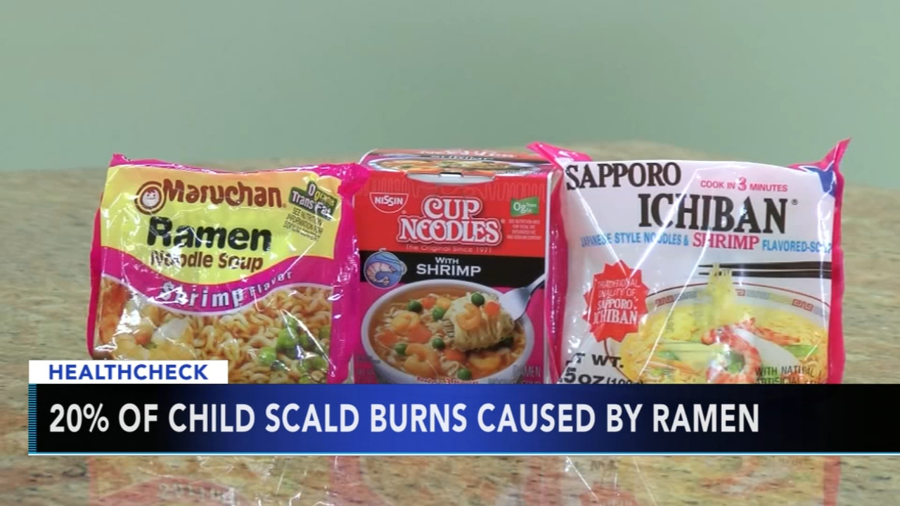 Study finds many children badly burned each year by instant soups. Gray Hall reports during Action News at 7 a.m. on November 3, 2018.