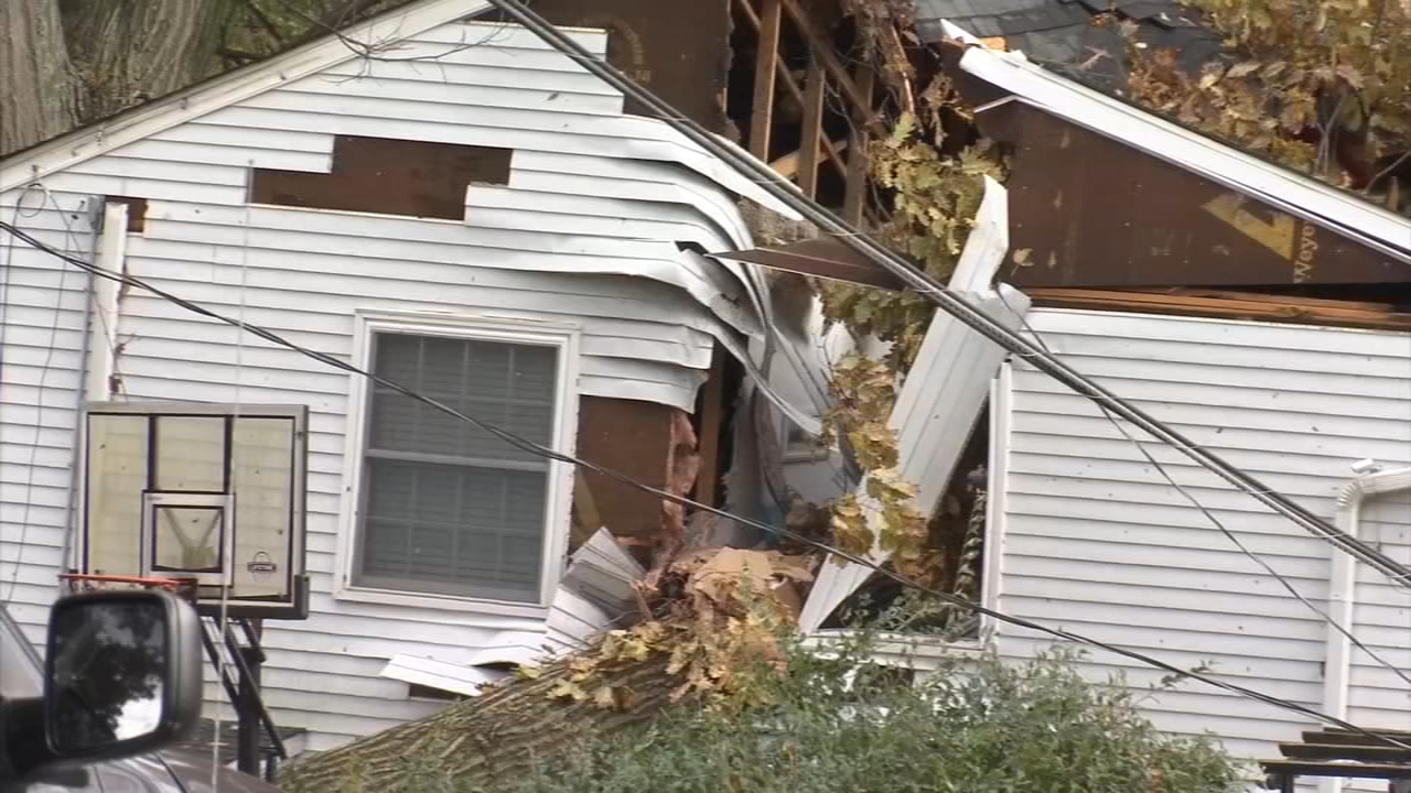 Cleanup continues after Friday night storms. Watch the report from Bob Brooks on Action News at 7 p.m. on Nov. 3, 2018.