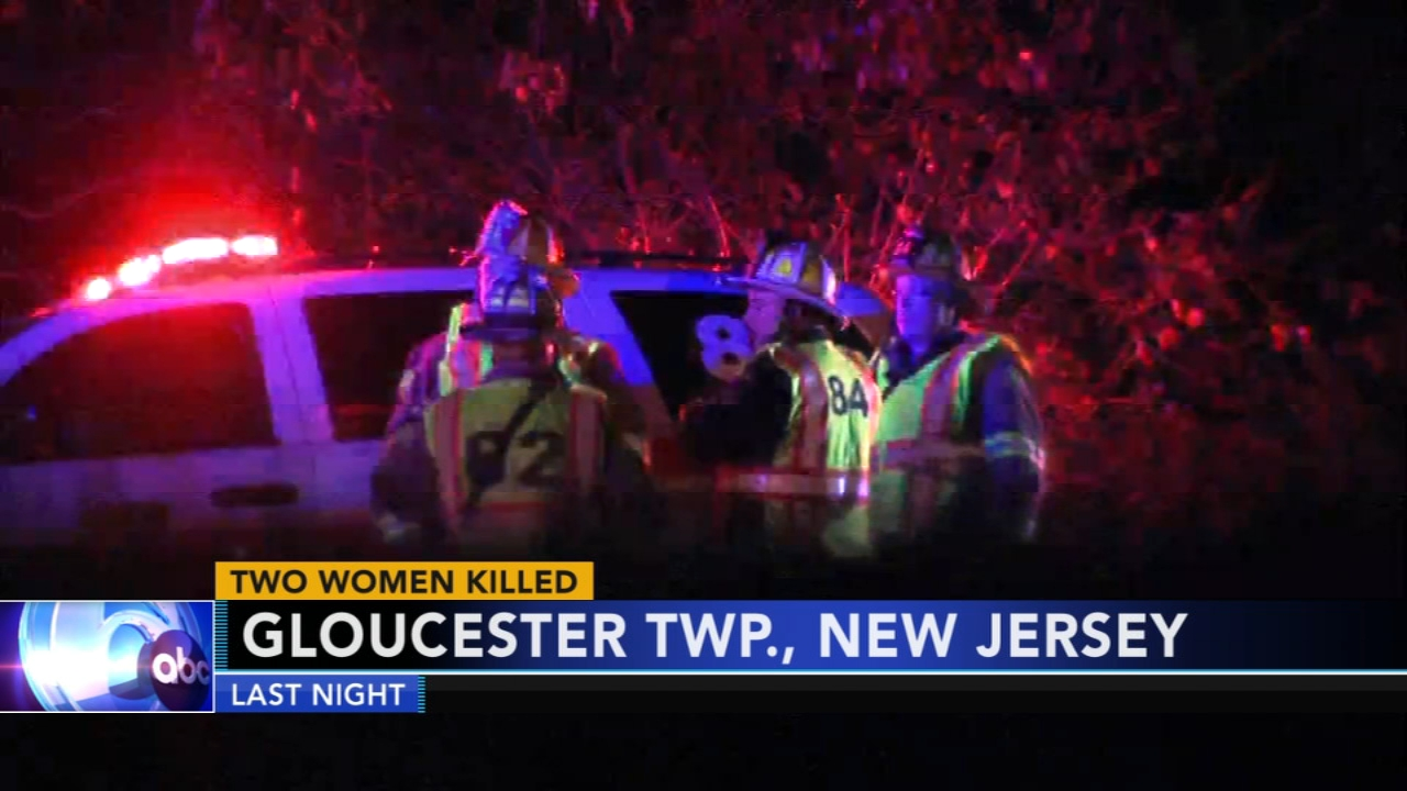 2 women killed in Gloucester Twp. crash. Christie Ileto reports during Action News Mornings on November 4, 2018.