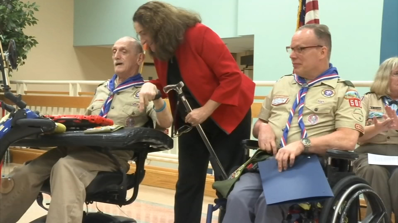 Eagle Scouts dont let disability stop them from achieving goals. David Murphy reports during Action News Mornings on November 4, 2018.