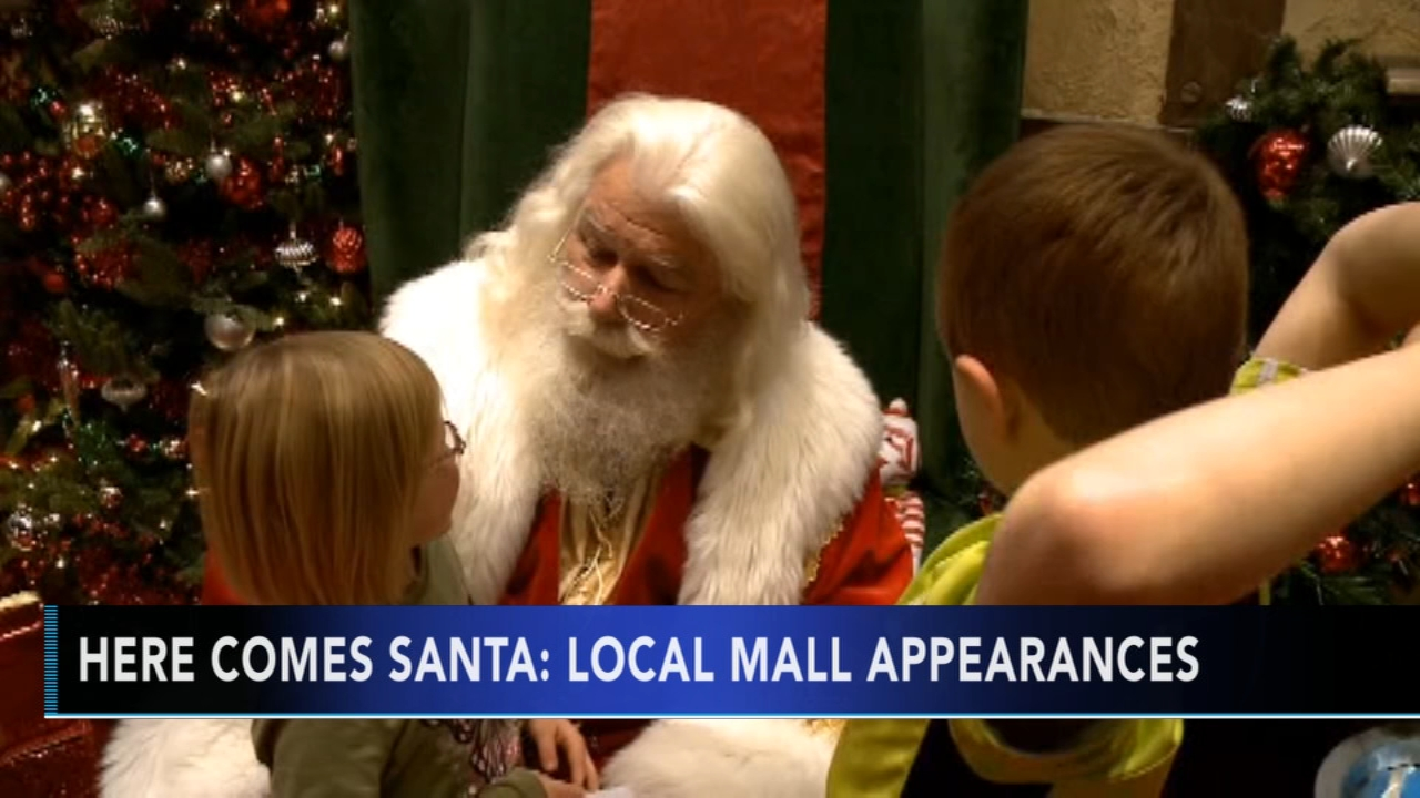 Santa Claus is already in town at malls. Tamala Edwards reports during Action News Mornings on November 5, 2018.