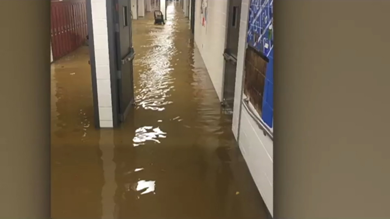 Emmaus High School remains closed due to flooding. Tamala Edwards reports during Action News Mornings on November 6, 2018.