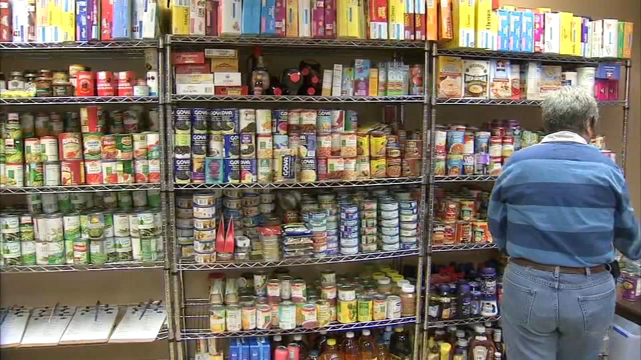 The food pantry will be stocked with emergency food and personal items as reported during Action News at 4 on November 6, 2018.