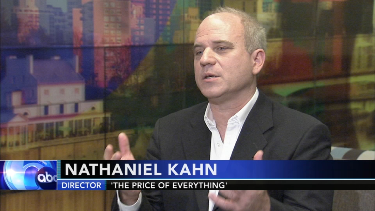 Nathaniel Kahn talks The Price of Everything. Alicia Vitarelli reports during Action News at Noon on November 6, 2018.