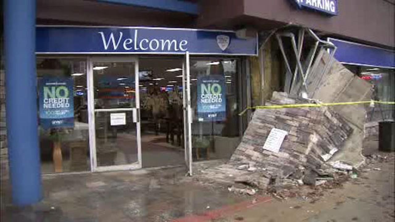 Car crashes into Cheltenham furniture store