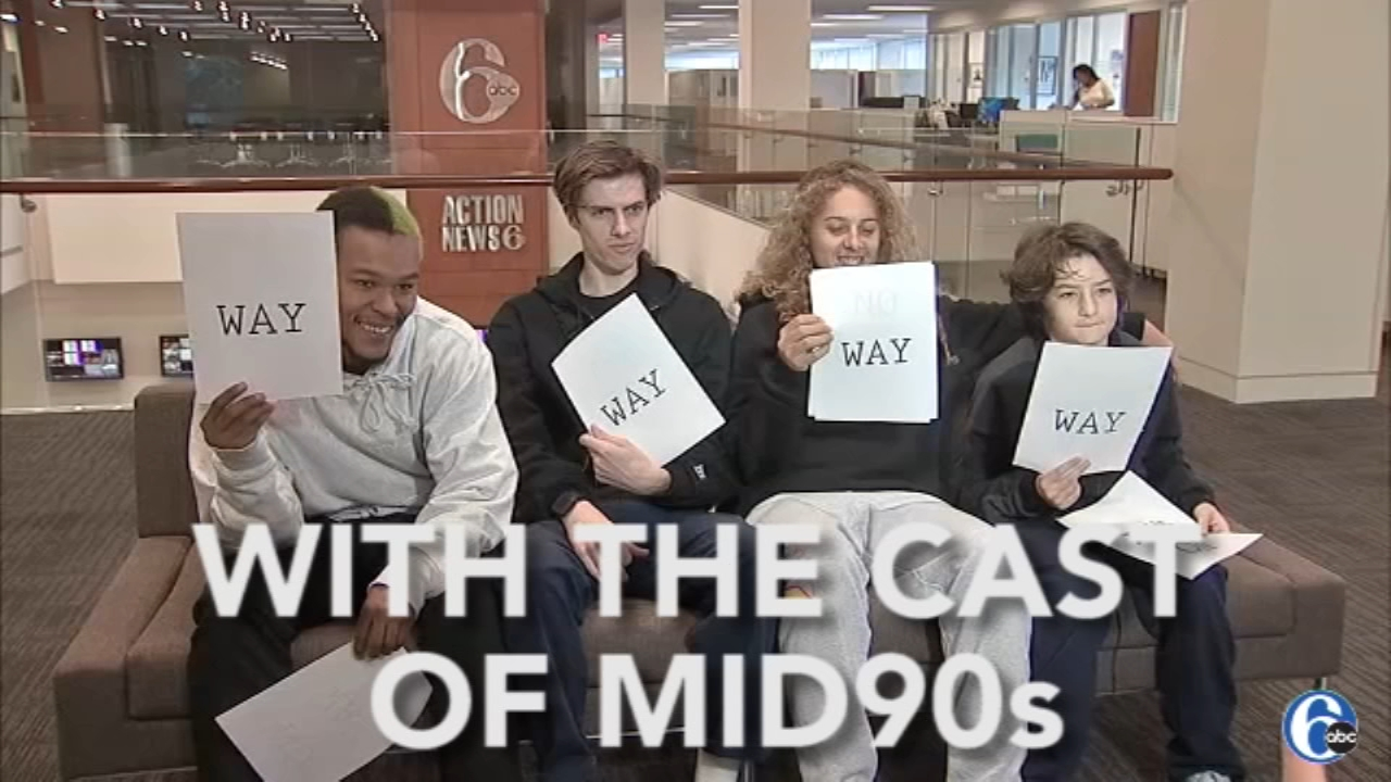 Way or No Way with the cast of Mid90s at 6abc studios in November 2018.
