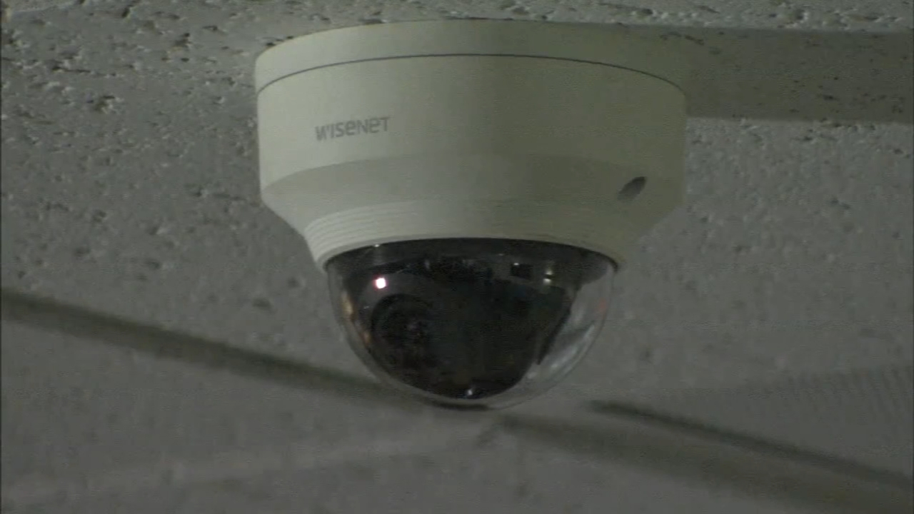 Archbishop Wood High School shows off more than 30 cameras with a new system as reported by Christie Ileto during Action News at 10 on November 7, 2018.