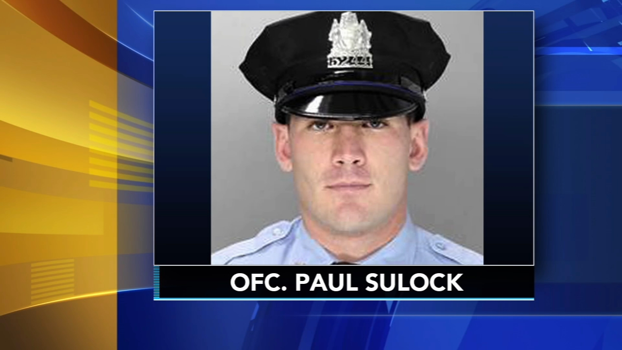31 year old officer Paukl Sullock recovering from wounds in shooting as reported by Dann Cuellar during Action News at 10 on November 7, 2018.