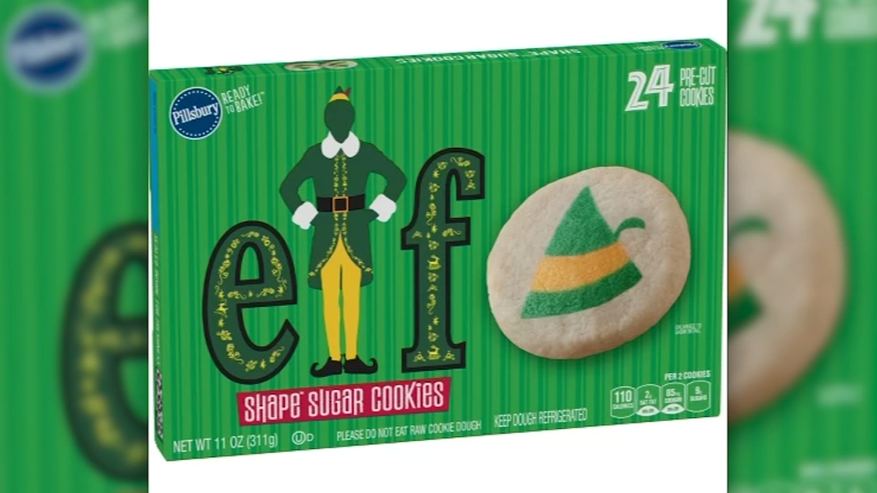 Pillsbury releasing Elf sugar cookies. Tamala Edwards reports during Action News Mornings on November 7, 2018.