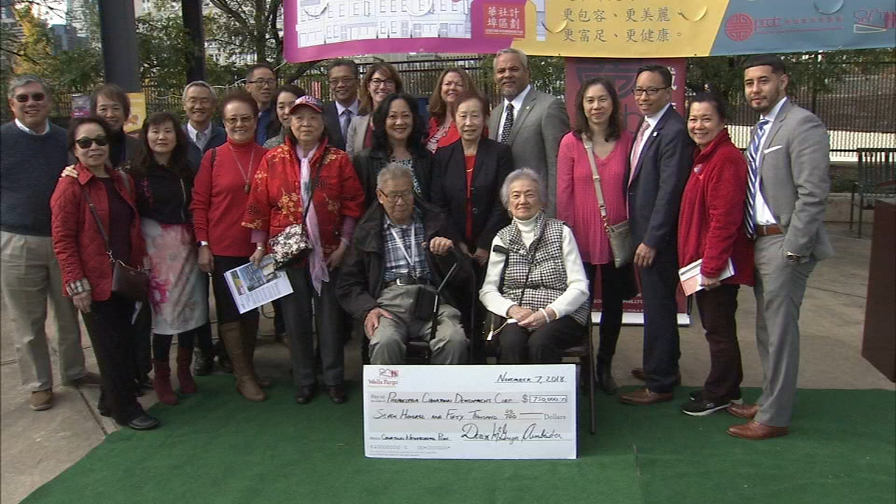 The money will go toward enhancing the quality of life and expanding economic opportunity in Chinatown as reported during Action News at 4 on November 7, 2018.