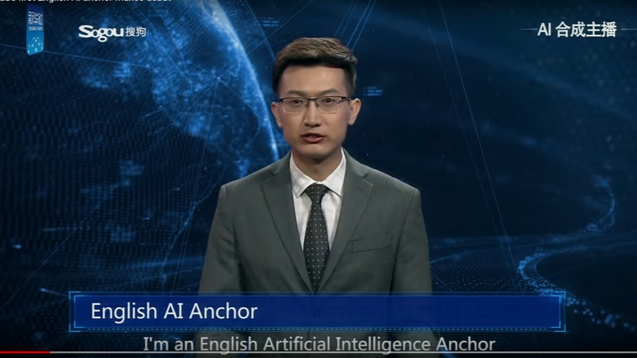 Chinese news agency debuts news anchor robot. Alicia Vitarelli reports during Action News at 4 p.m. on November 8, 2018.