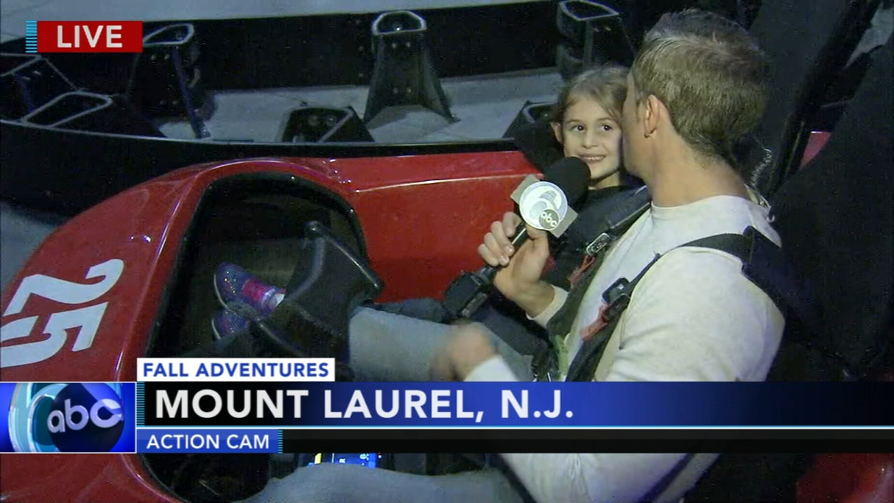 Adam Joseph reports on Fall Adventures at the Funplex in Mount Laurel, New Jersey during Action News at 4:30 p.m. on November 8, 2018.