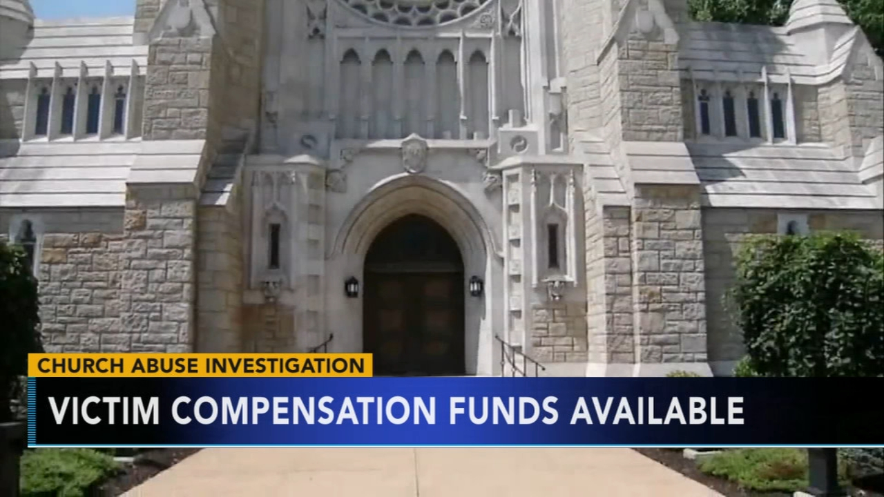 Pennsylvania dioceses outline child sex abuse victim funds.Sharrie Williams reports during Action News at 4 p.m. on November 8, 2018.