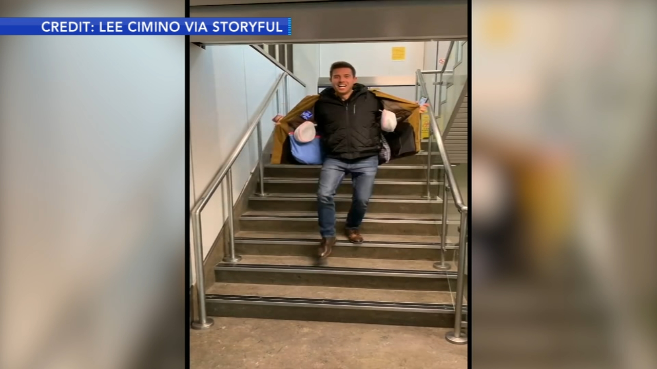 Man customizes coat to avoid airline fees. Tamala Edwards reports during Action News Mornings on November 8, 2018.