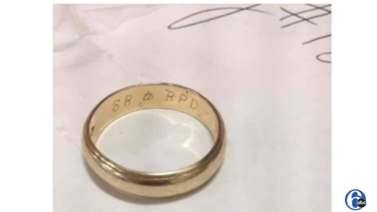 Royersford police search for 9-27-58 wedding ring owner. 6abc.com report on November 8, 2018.