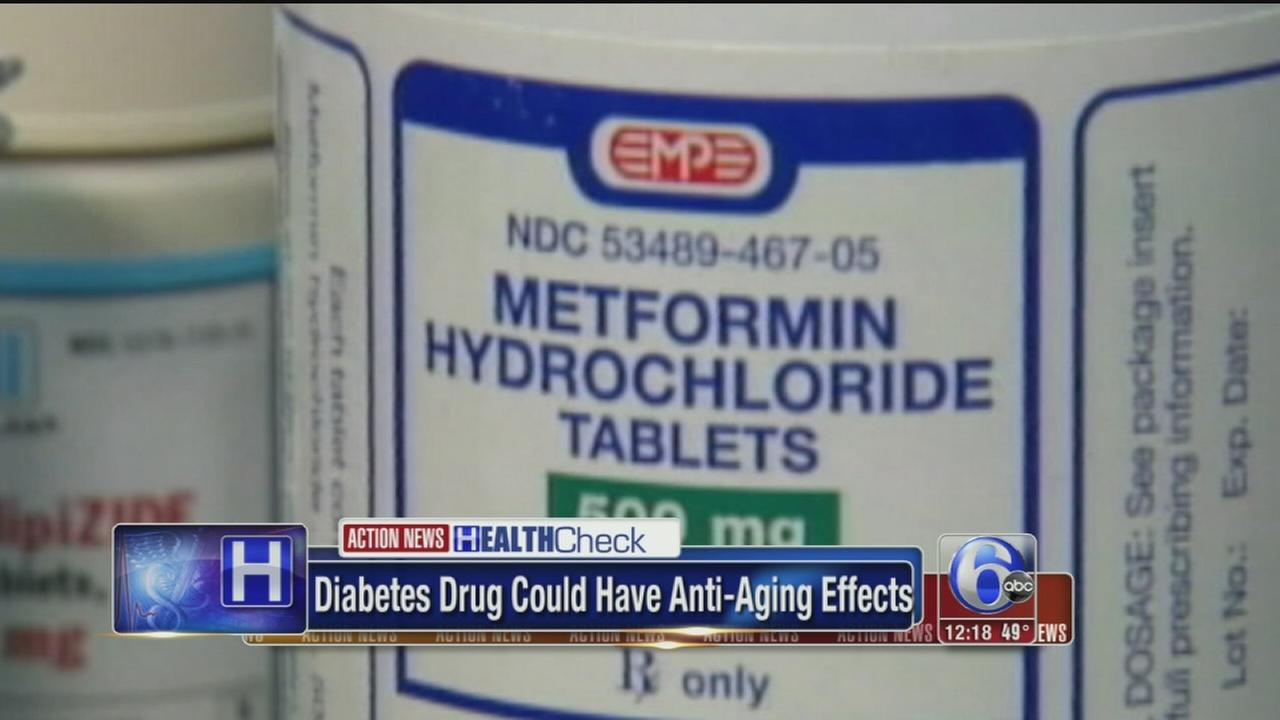 VIDEO: Diabetes drug may have anti-aging effects