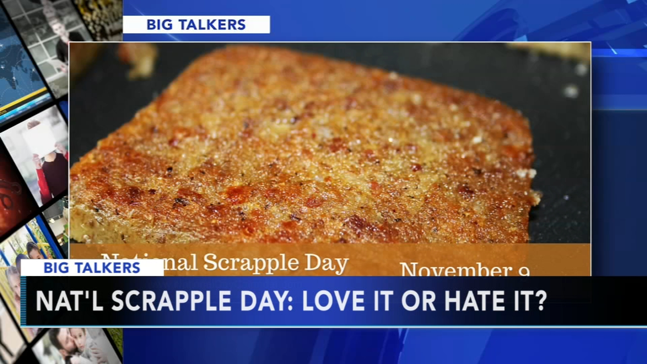 November 9th marks National Scrapple Day. Alicia Vitarelli reports during Action News at 4 p.m. on November 9, 2018.