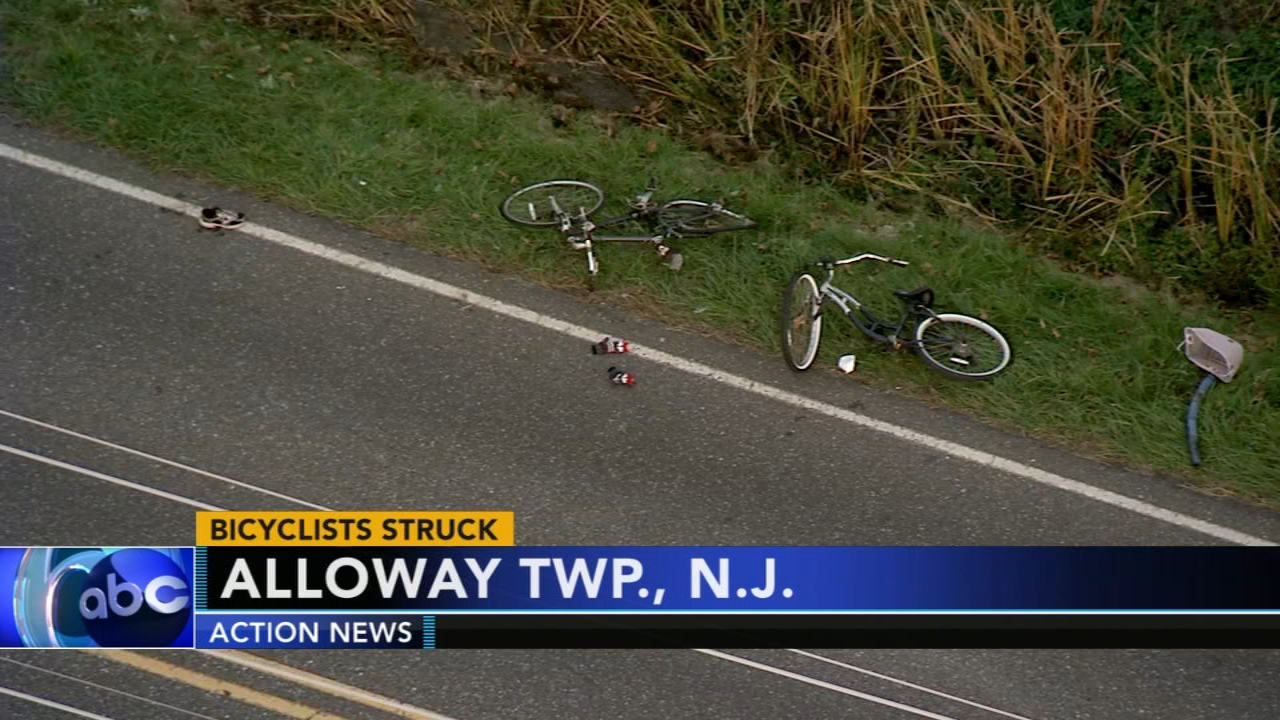 2 bicyclists struck in Salem County. Tamala Edwards reports during Action News Mornings on November 9, 2018.