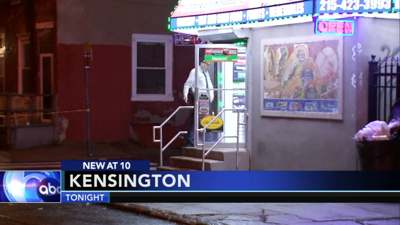 Woman shot dead outside store in Kensington. Sharrie Williams reports during Action News at 10 p.m. on November 9, 2018.