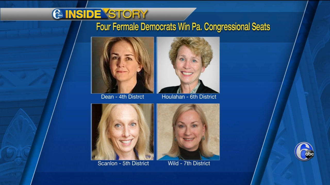 The panel recaps the 2018 Midterms and the success of female candidates as Democrats make a statement.