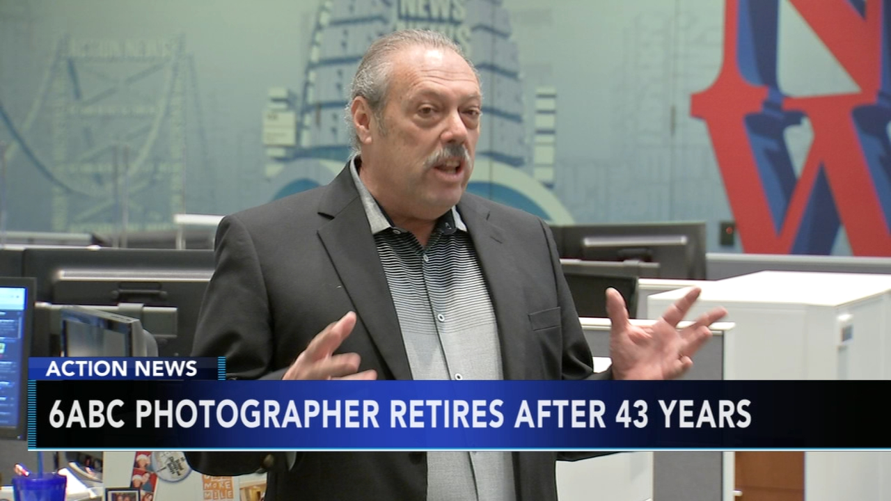 6abc photographer, John Feucht retires after 43 years. Jim Gardner reports during Action News at 6 p.m. on November 9, 2018.