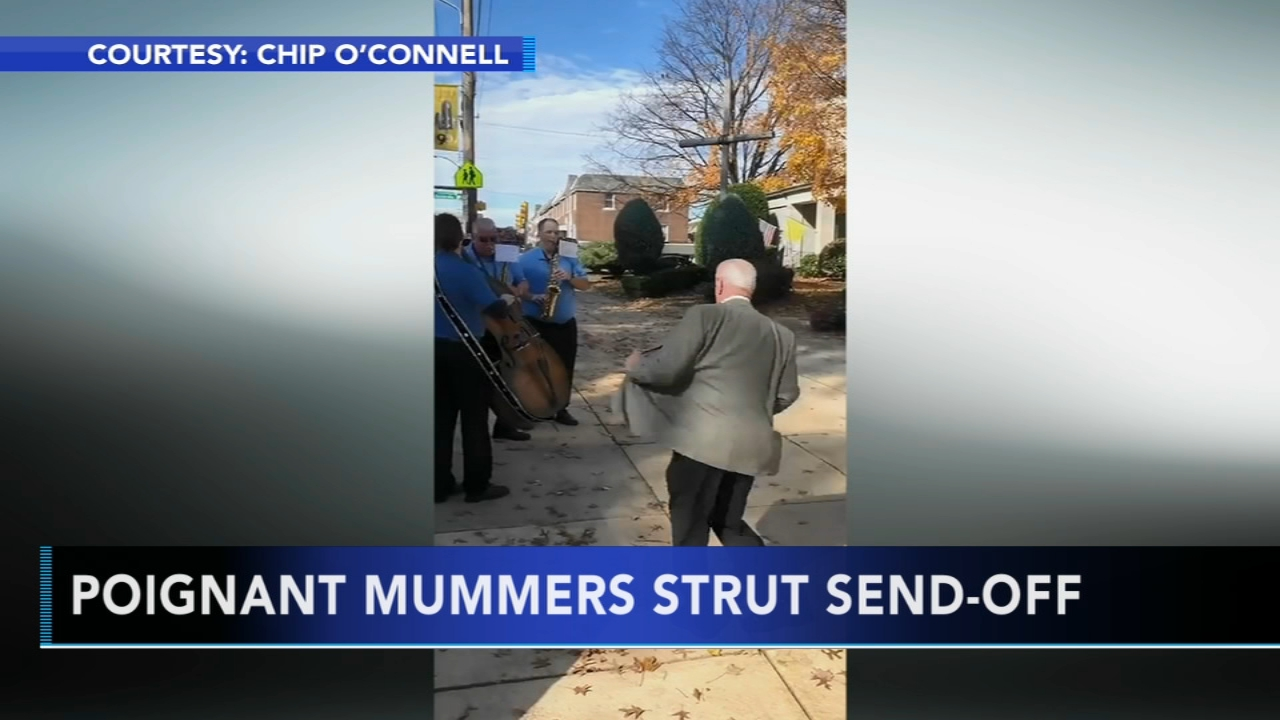 Poignant Mummers strut send-off. Watch the reprot from Action News at 4:30 p.m. on November 9, 2018.