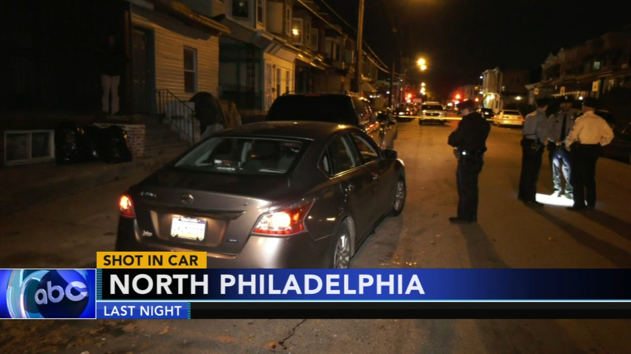 Man shot in car in North Philadelphia. Tamala Edwards reports during Action News Mornings on November 9, 2018.