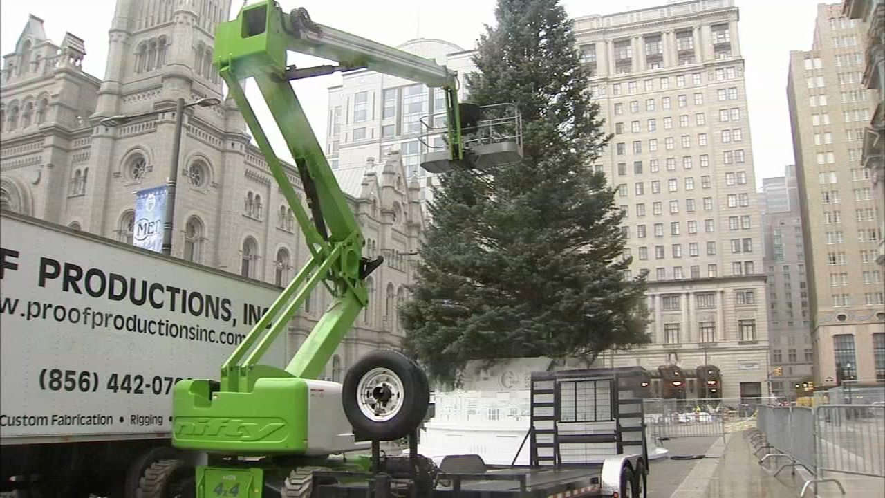Preps underway for Philly Holiday Festival. Gray Hall reports during Action News at 6 p.m. on November 9, 2018.
