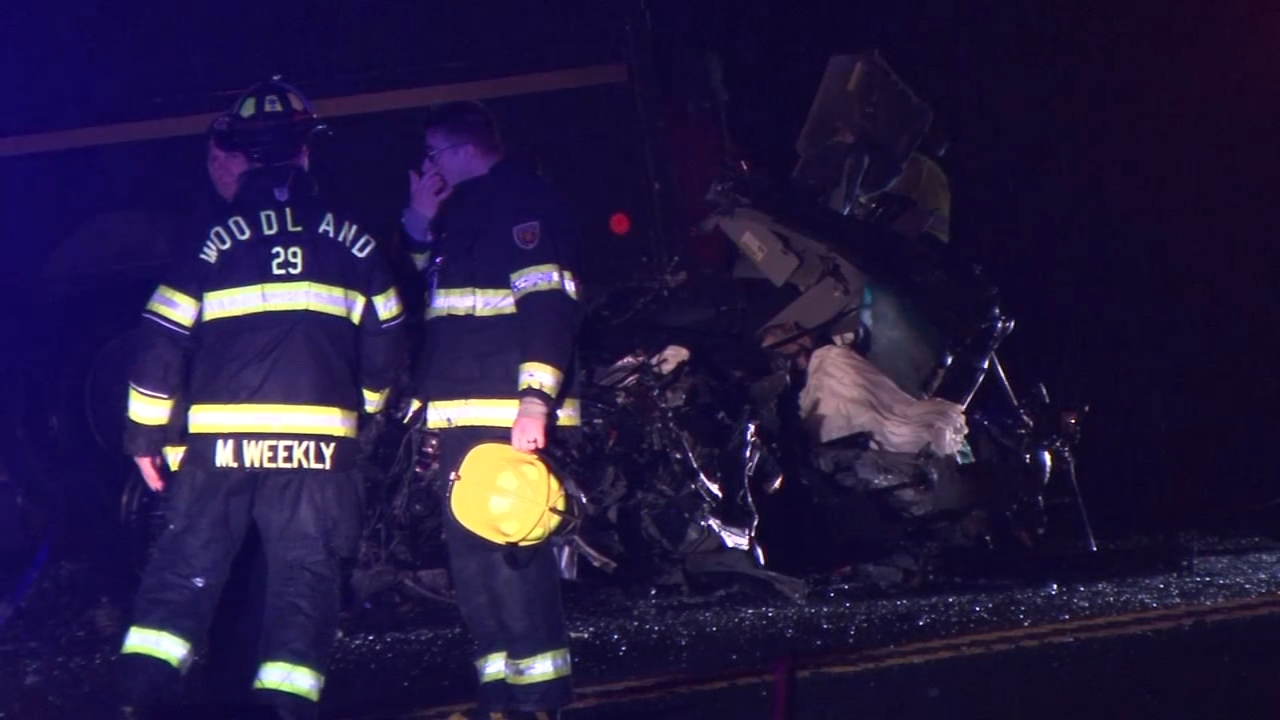1 dead, 1 injured after UPS truck and car collide in NJ. Brian Taff reports during Action News at 10 p.m. on November 9, 2018.