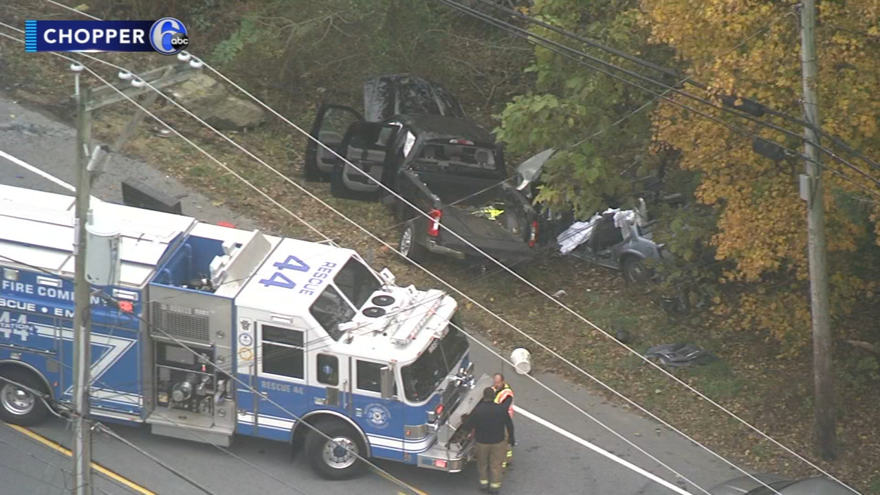 1 dead, 2 injured in Valley Township crash. Watch this report from Action News at 4pm on November 9, 2018.