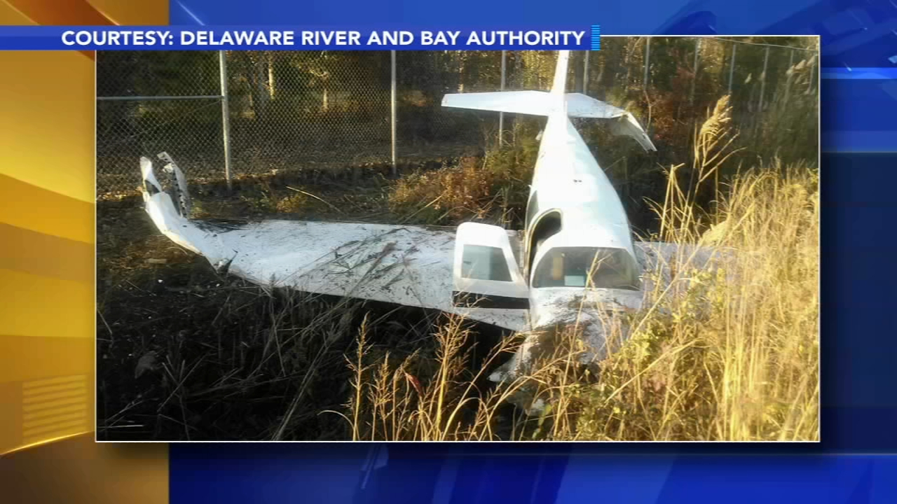 Plane crashes after takeoff at Cape May Airport. Watch the report from Nov. 10, 2018.