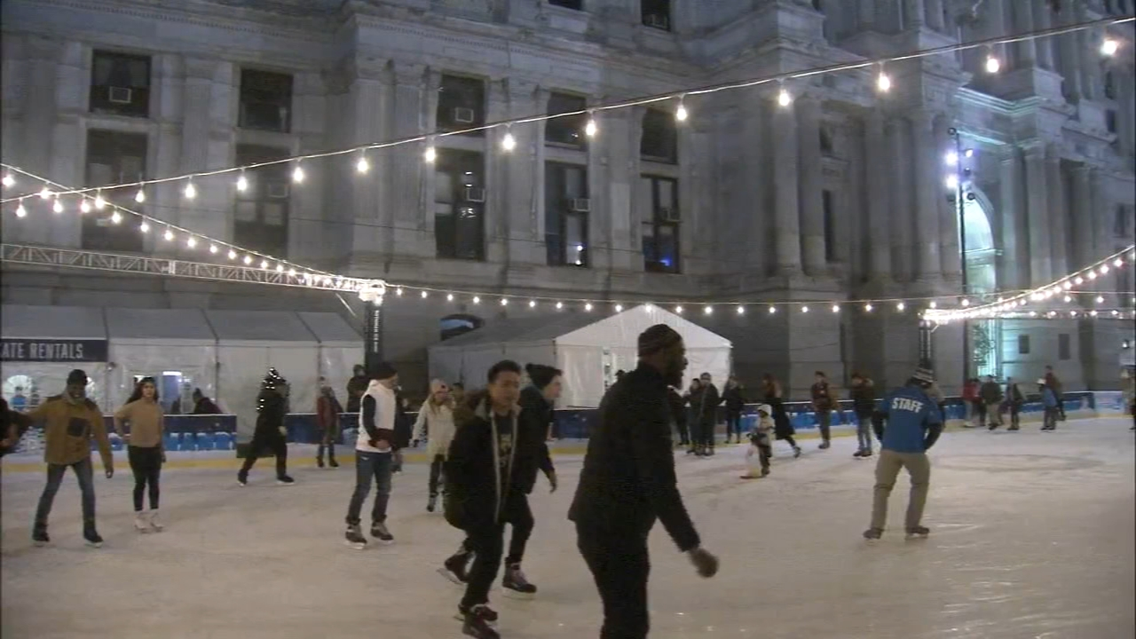 Skates slicing through the facade of the frozen rink. Even as temperatures drop, the Rothman Ice Rink in Dillworth Park is a high traffic area in Center City. Watch Maggie Kents r