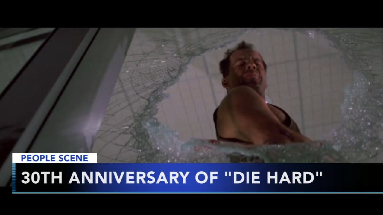 Die Hard coming back to theaters. Gray Hall reports during Action News at 6 a.m. on November 10, 2018.