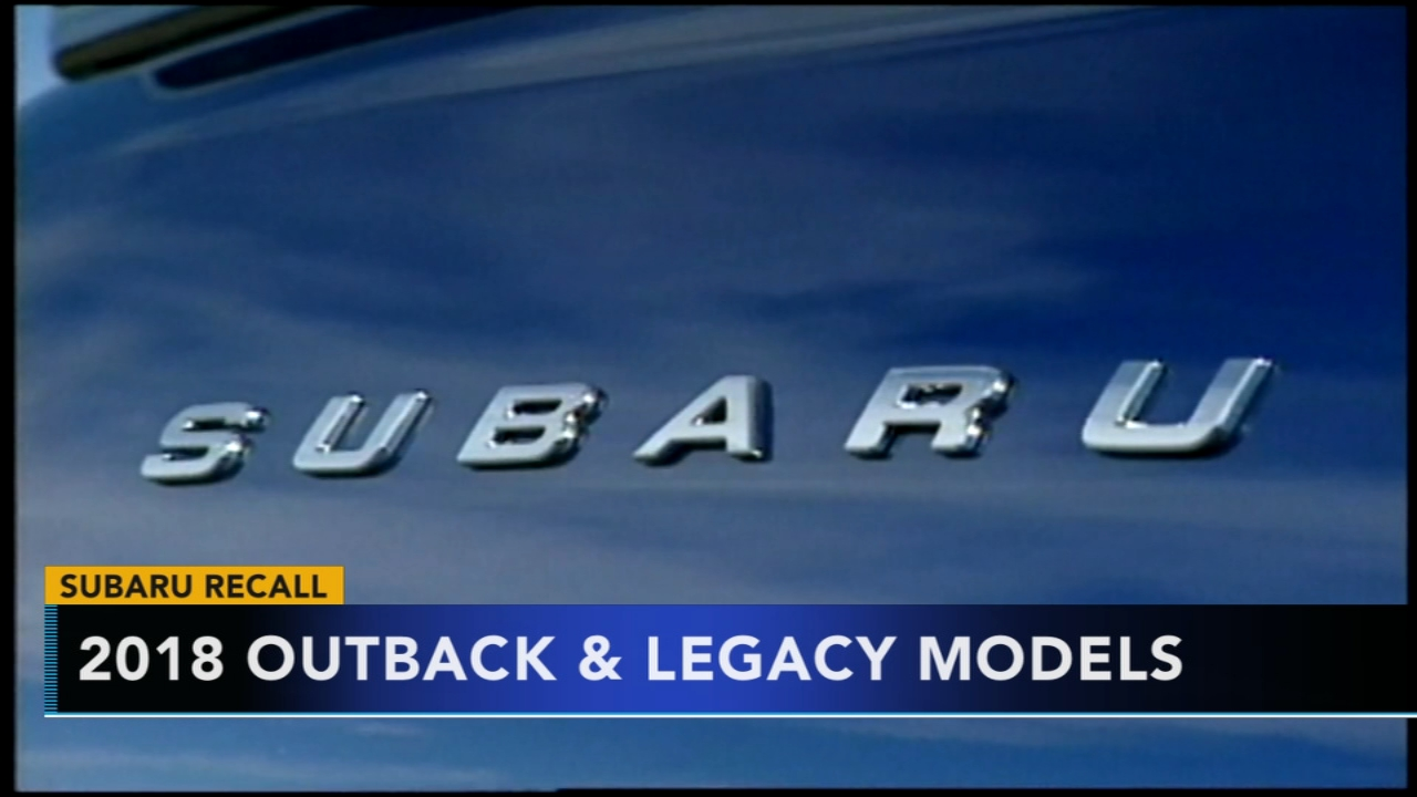 Subaru recalls 640K vehicles globally for stalling problems. Gray Hall reports during Action News at 6 a.m. on November 10, 2018.