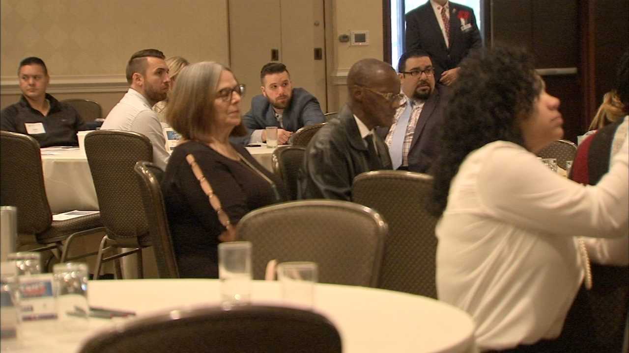 Veterans attend special jobs summit in Cherry Hill. Gray Hall reports during Action News at 6 a.m. on November 10, 2018.