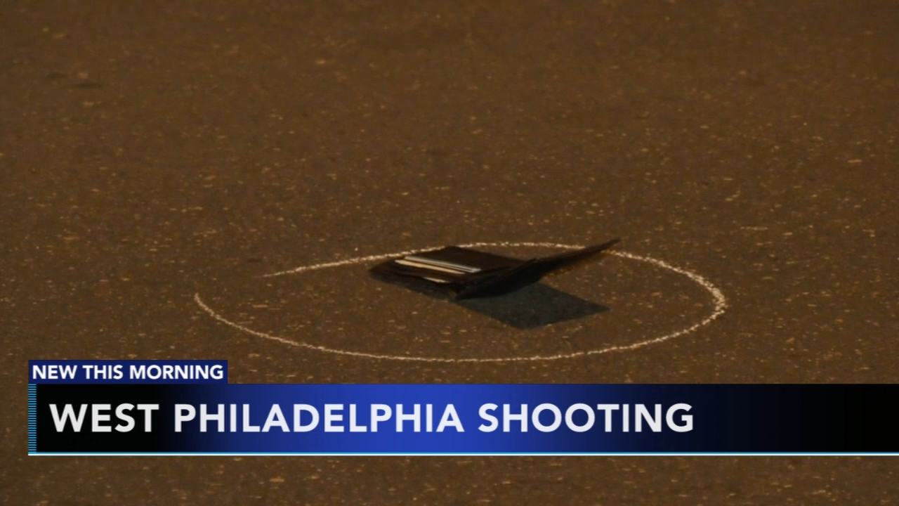 West Philadelphia shooting caught on camera. Gray Hall reports during Action News at 6 a.m. on November 11, 2018.
