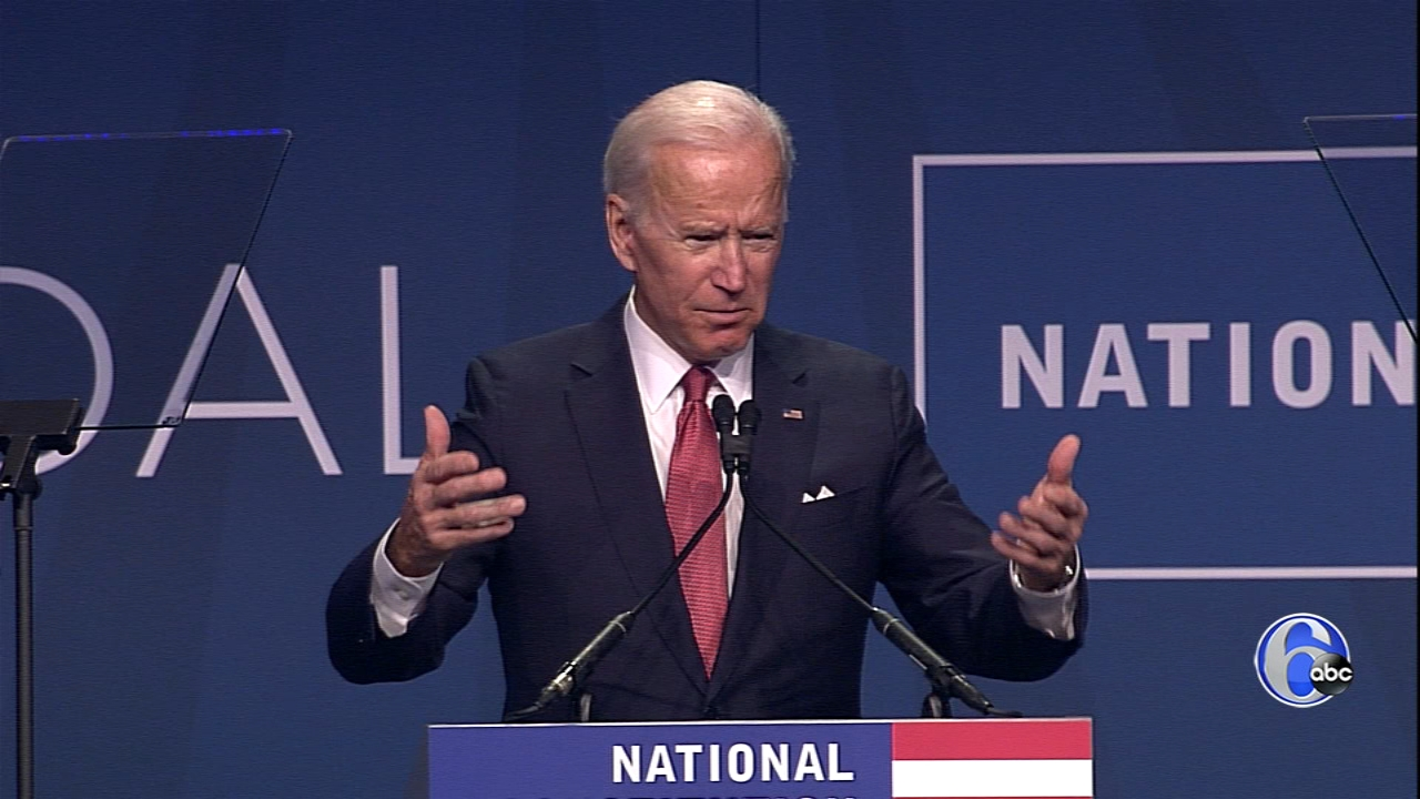 WATCH Former Vice President Joe Biden present the 2018 Liberty Medal to George W. and Laura Bush.