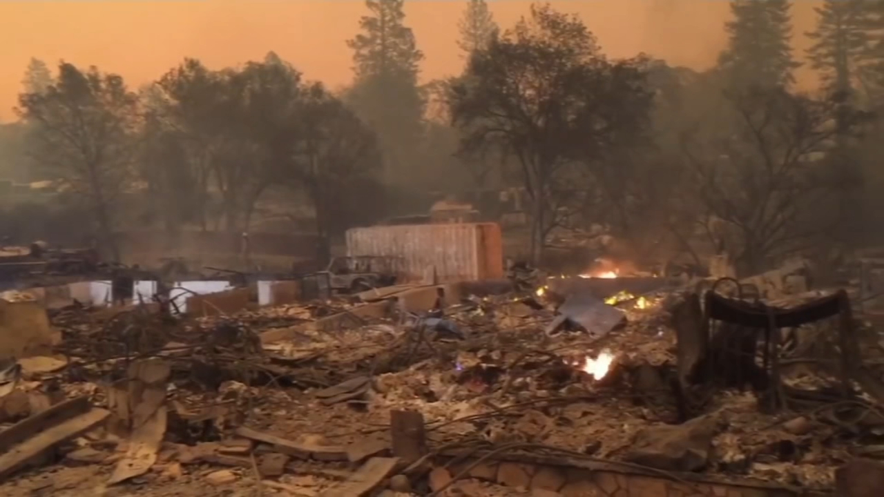 Death toll rises in California wildfire, matching deadliest: As seen on Action News at 11 p.m., November 11, 2018