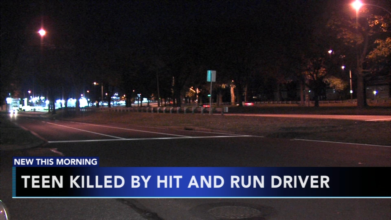 Police search for vehicle that struck and killed a teenage boy in Rhawnhurst. Nydia Han reports during Action News at 6 a.m. on November 11, 2018.