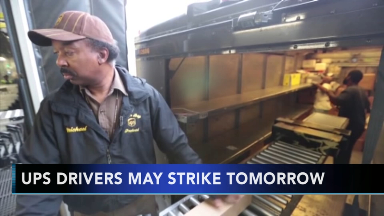 UPS preparing for possible employee strike. Gray Hall reports during Action News at 9 a.m. on November 11, 2018.