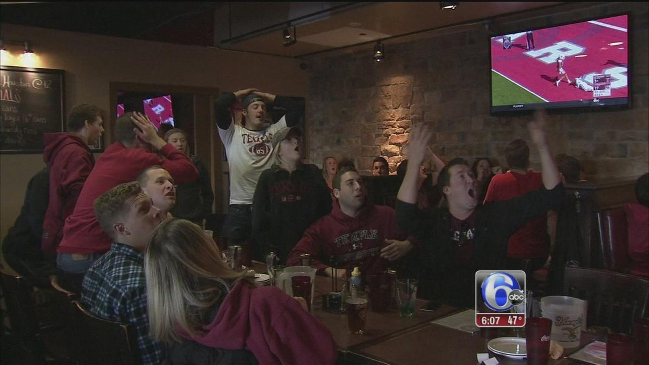 VIDEO: Temple fans react to AAC game