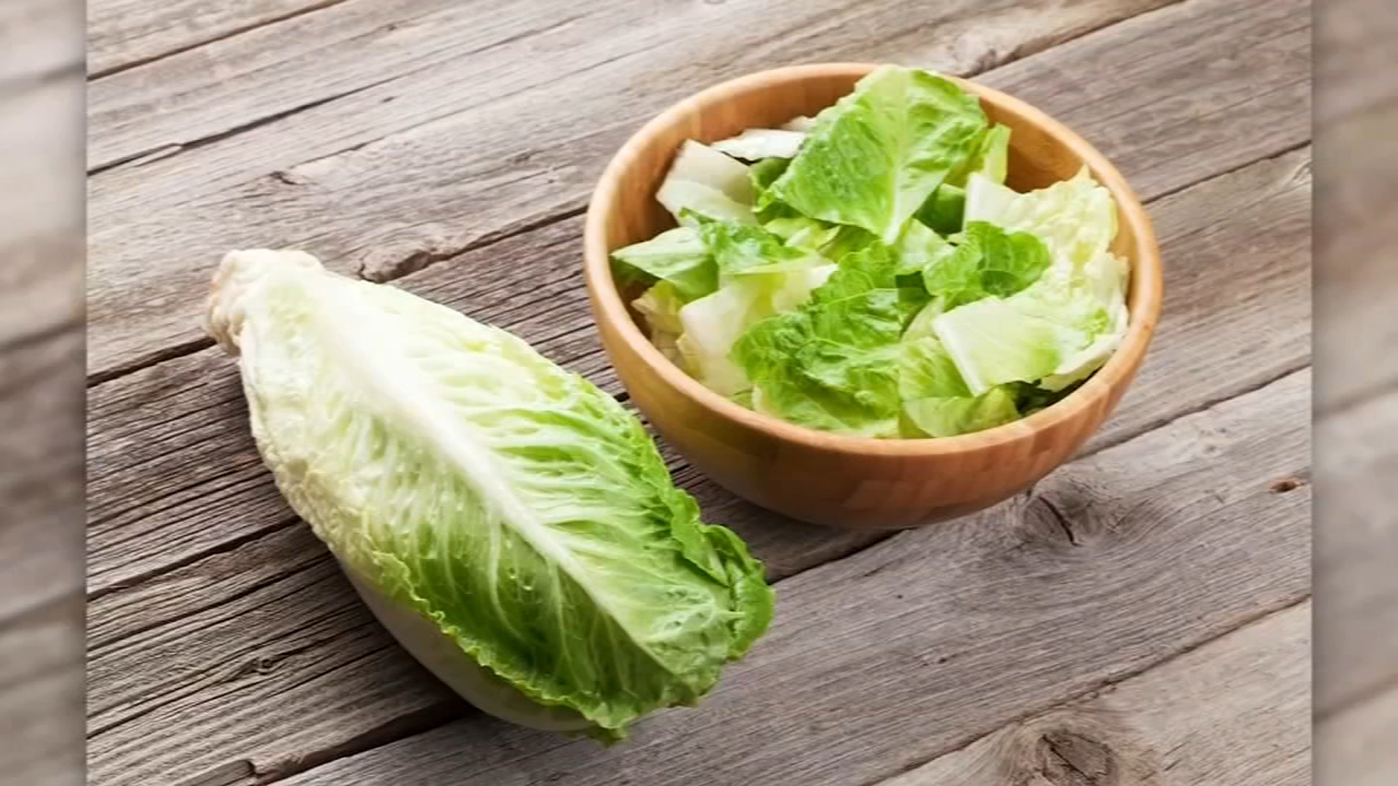 Consumers advised to throw out romaine lettuce due to e-Coli. John Rawlins reports during Action News at 5 p.m. on November 21, 2018.