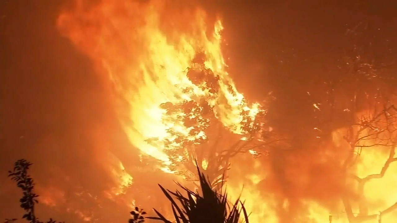 The dead in Northern Californias devastating wildfire have been found in burned-out cars as reported by Christie Ileto during Action News at 10pm on November 12, 2018.