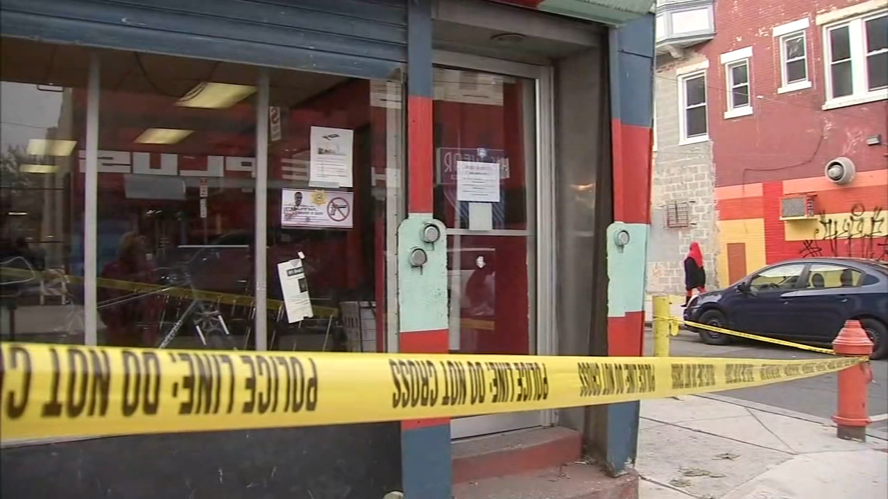 Dispute leads to shooting inside North Philadelphia barbershop. Sarah Bloomquist reports during Action News at 5pm on November 12, 2018.