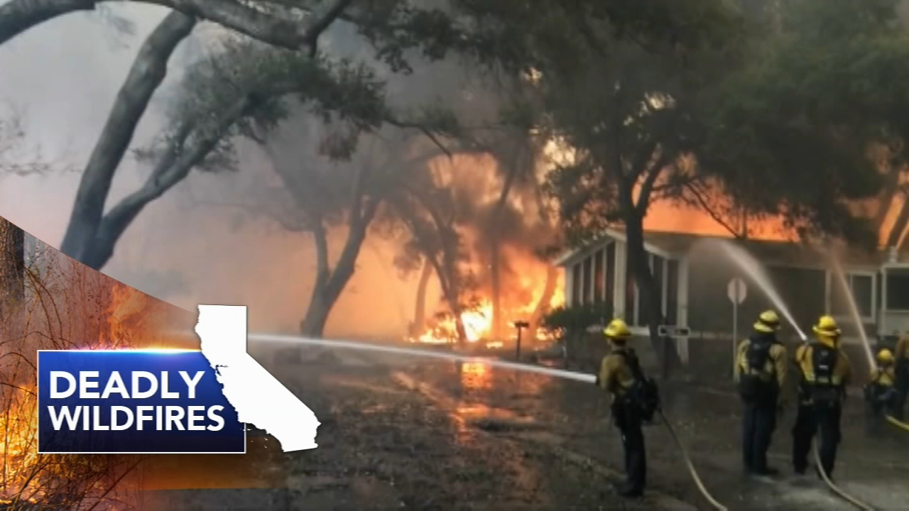 Dead in cars and homes: Northern California fire toll at 29: Natalie Brunell reports on Action News at 4 p.m., November 11, 2018